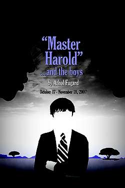 'Master Harold'…and the Boys