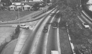 York Avenue On/Offramp in 1961